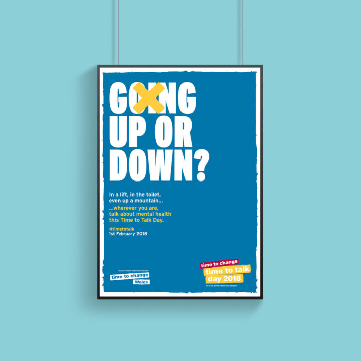 Time to Talk Day 2018 - Up or Down Poster