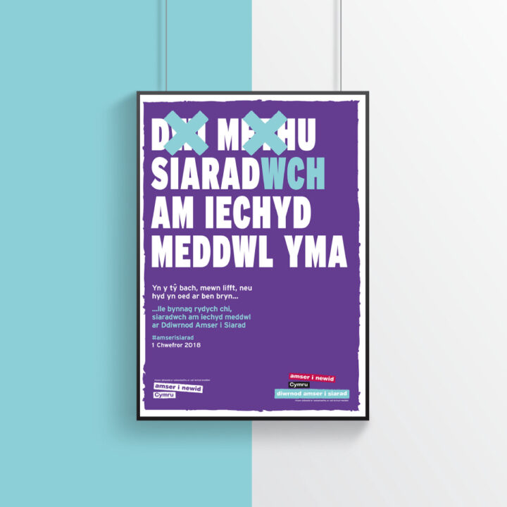 Time to Talk Day 2018 - Welsh Poster
