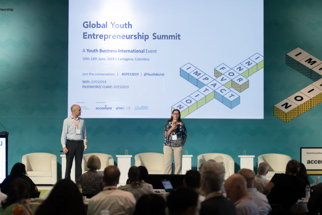 Two keynote speakers at Global Youth Entrepreneurship Summit 2019