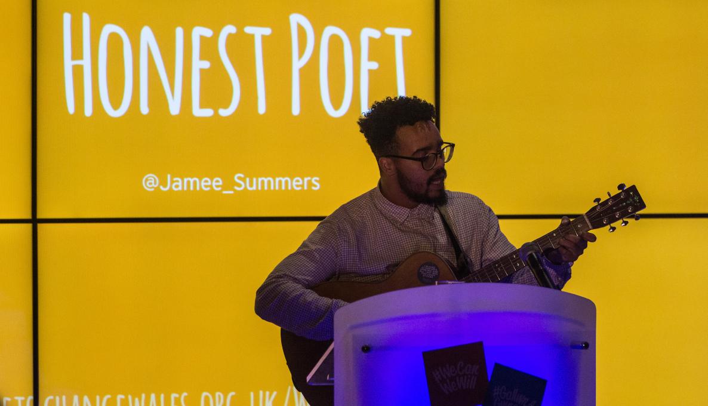 #WeCanWeWill launch event - Honest Poet