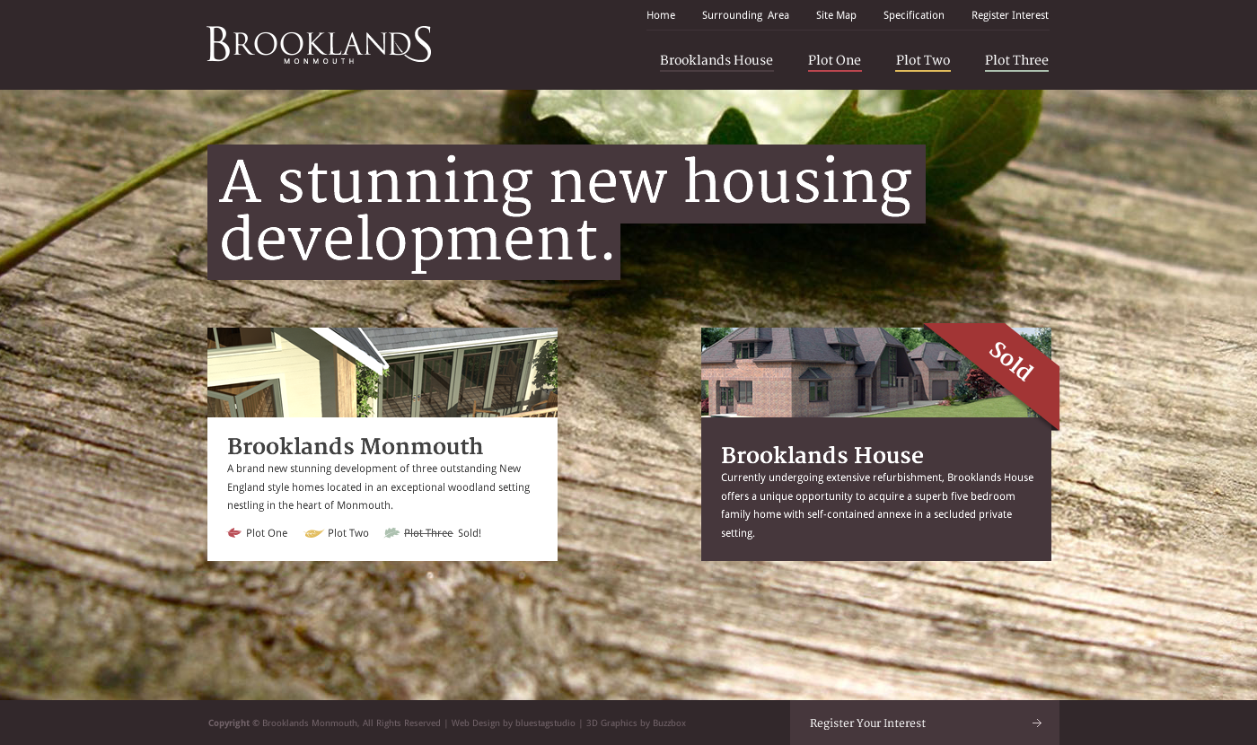 Brooklands Monmouth Website