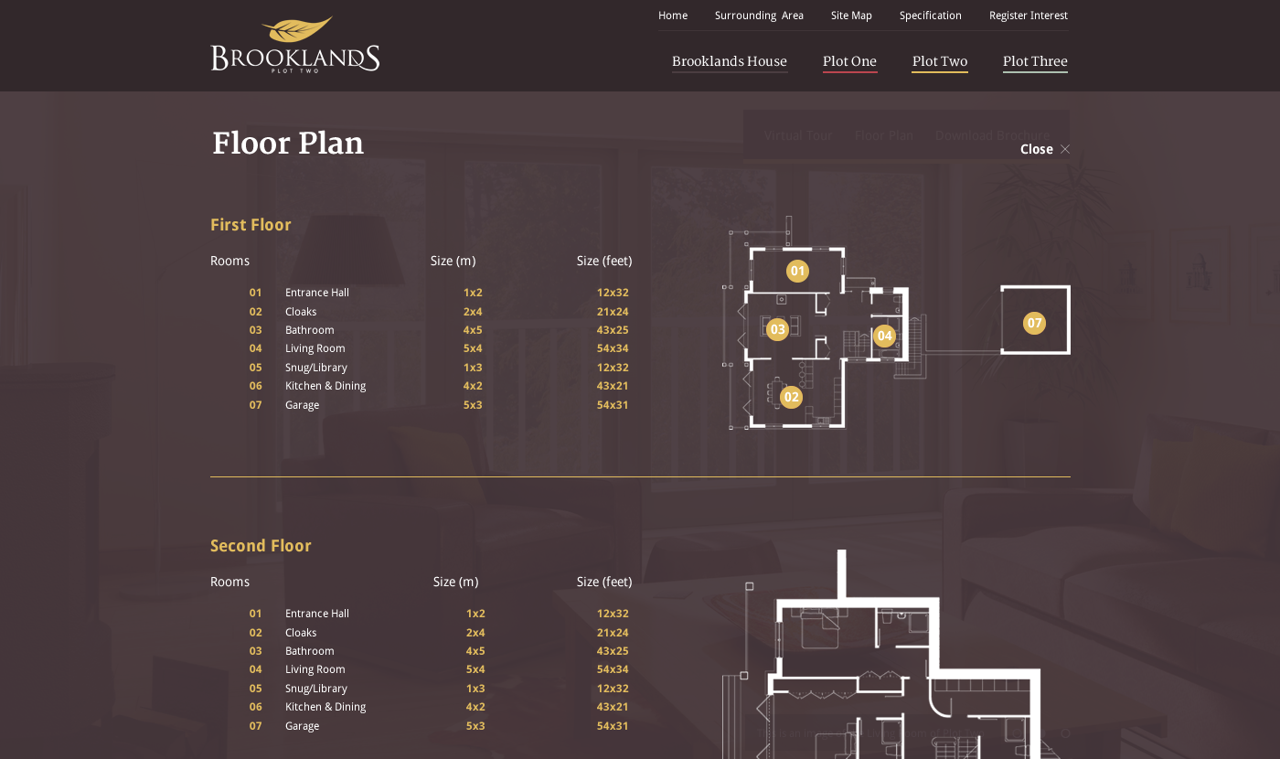 Brooklands Monmouth Website Floorplan