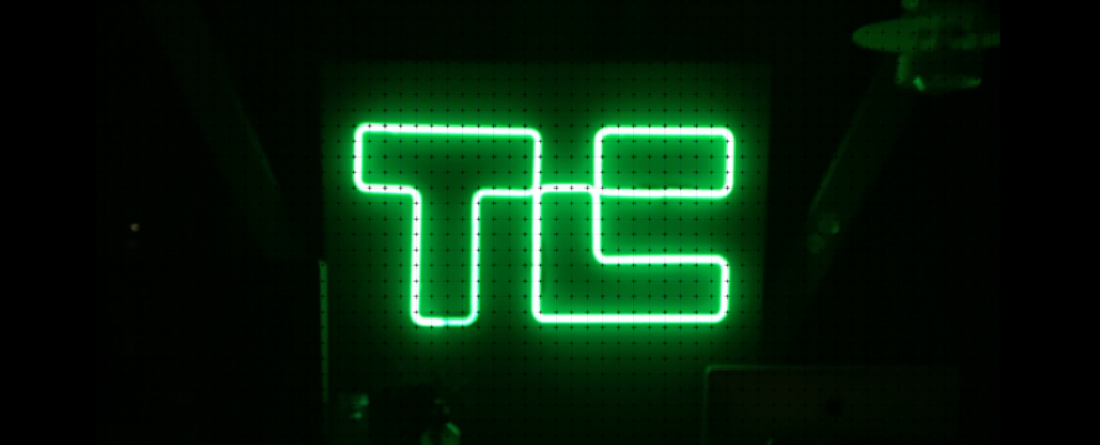 Tech neon lights