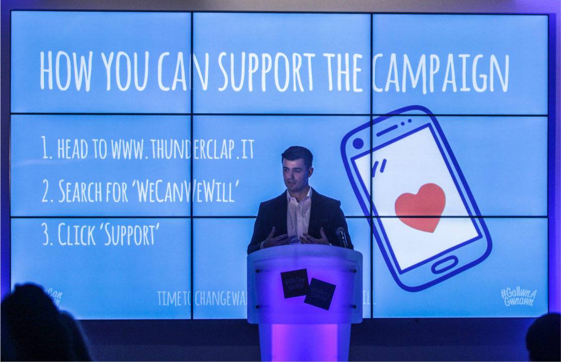 #WeCanWeWill - Launch event