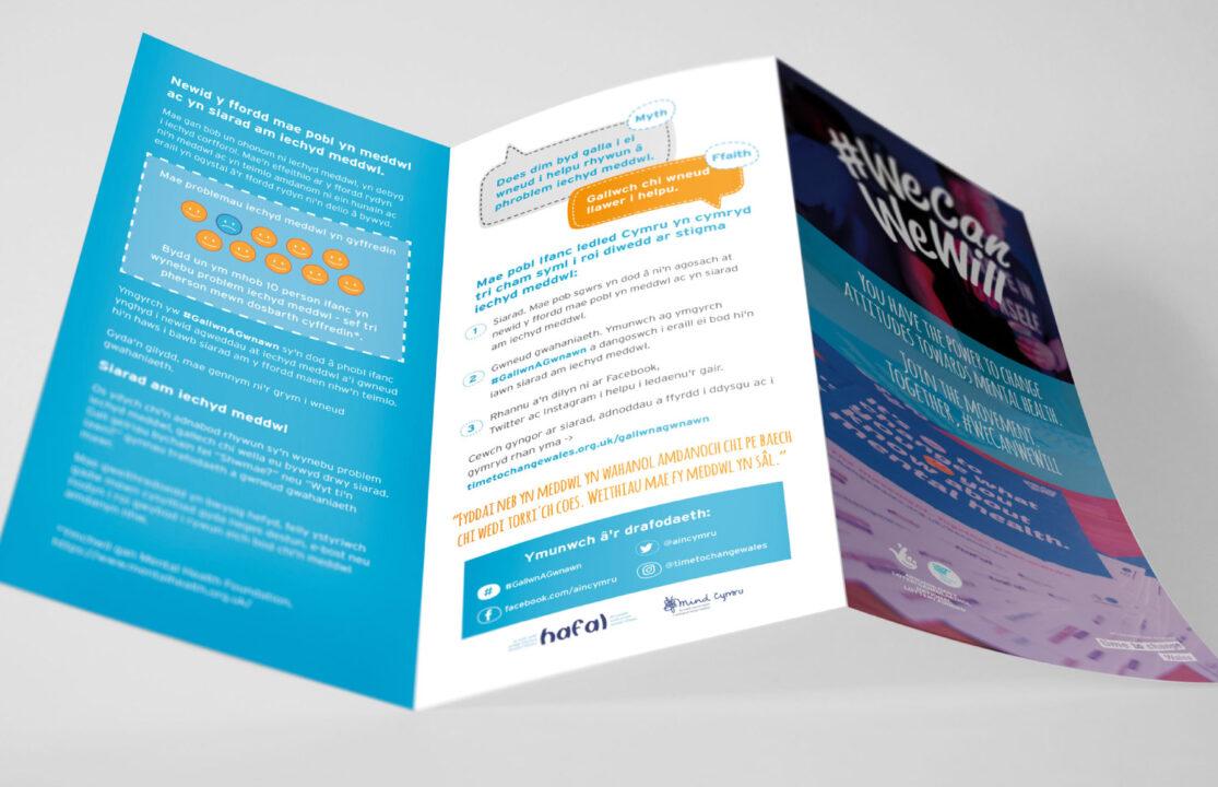 #WeCanWeWill - tri-fold leaflet
