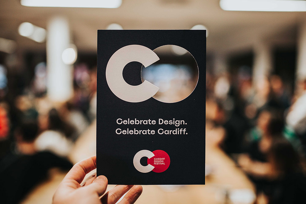 Cardiff Design Festival flyer