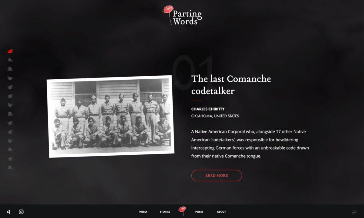 Charles Chibitty - Last Comanche Codetalker