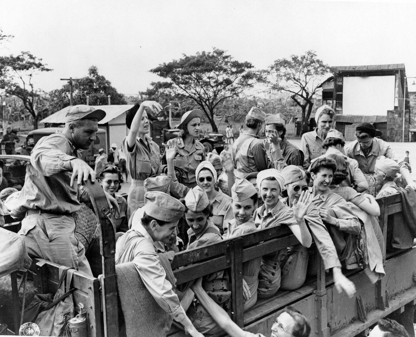 Ruby Bradley after her release from Manila Prisoner of War Camp