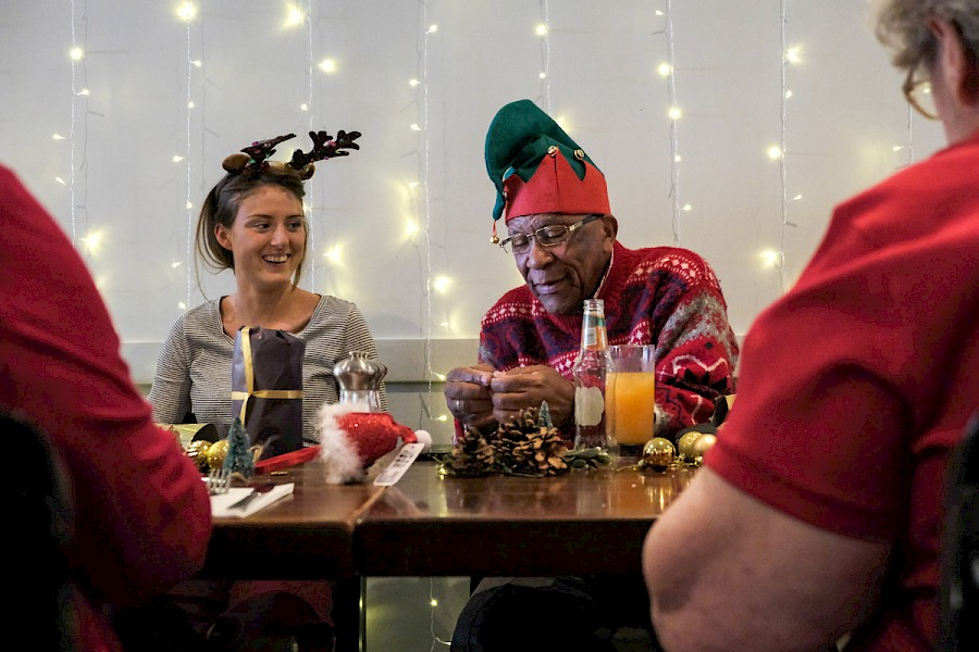 Re-Engage Christmas party for over 75s