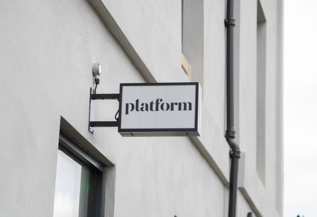 Exciting news - Platform sign