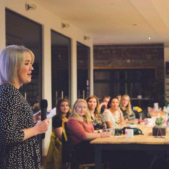 Talks at Warrior Women Events