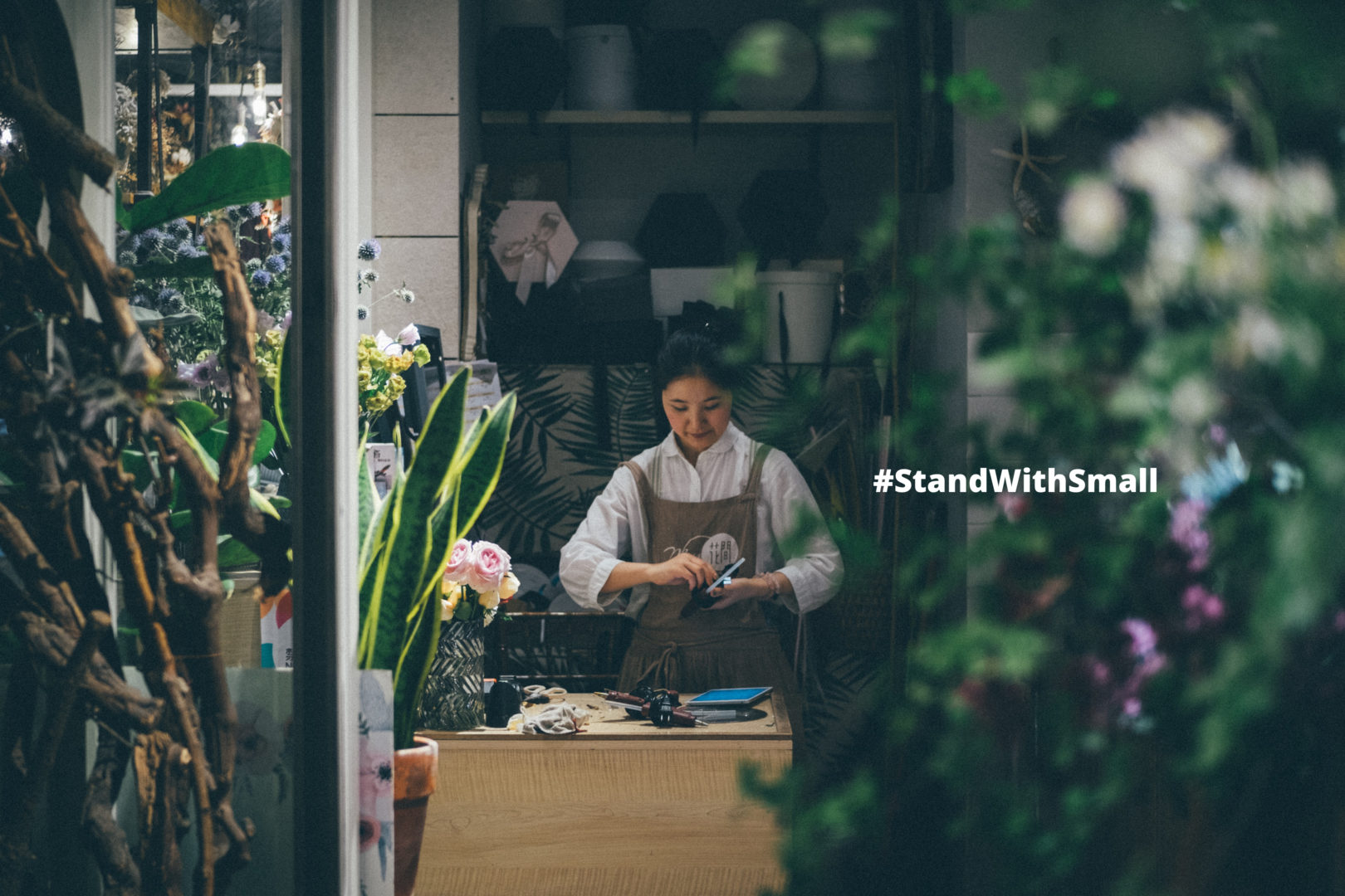 Social media campaigns for charities - #StandWithSmall