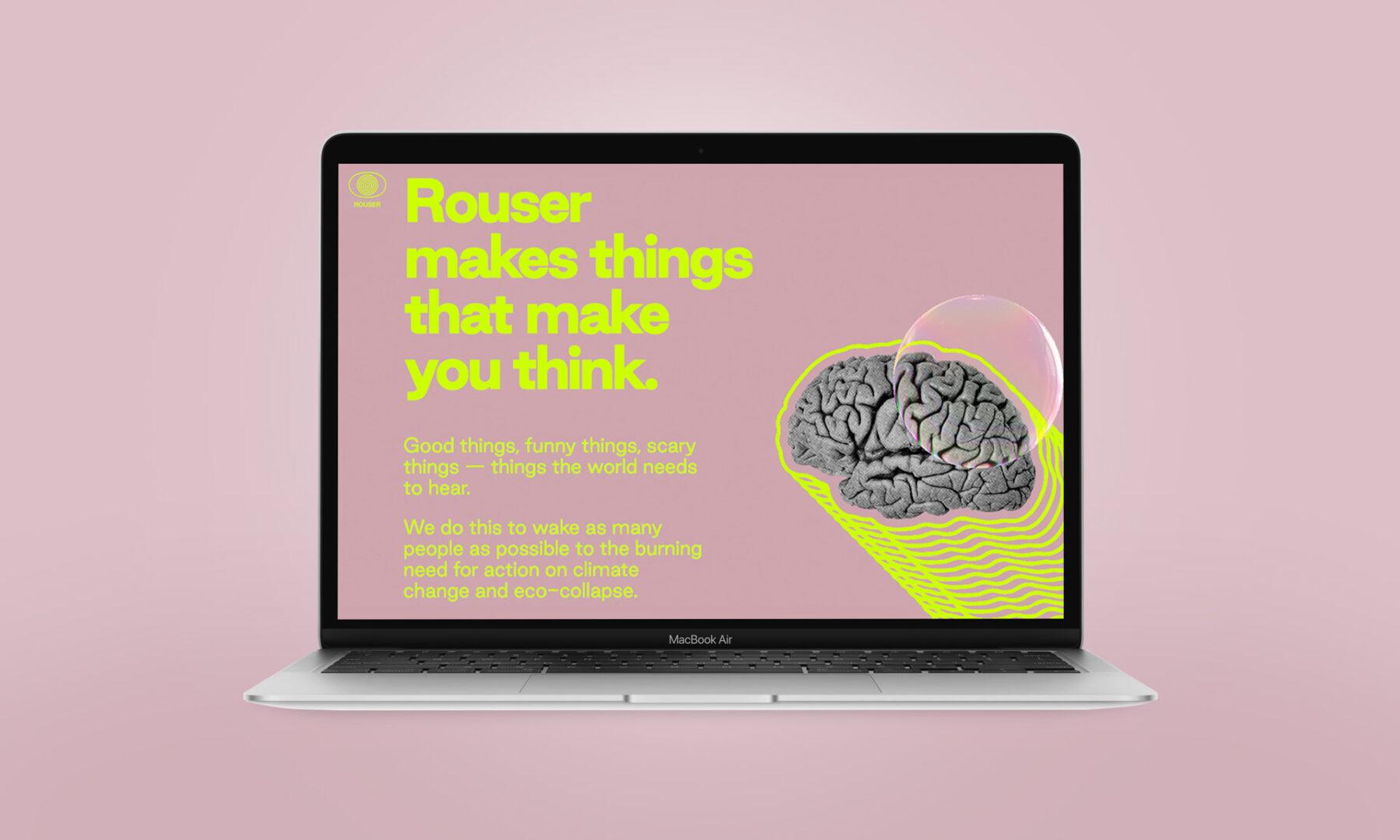 Rouser Website - By ED.