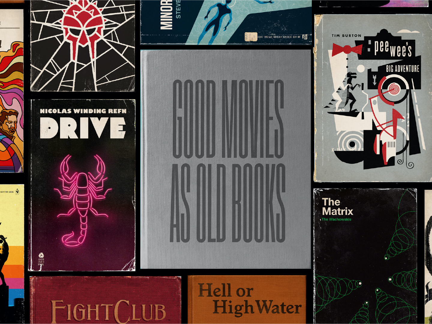 Good movies as old books - Blue Stag Selects May