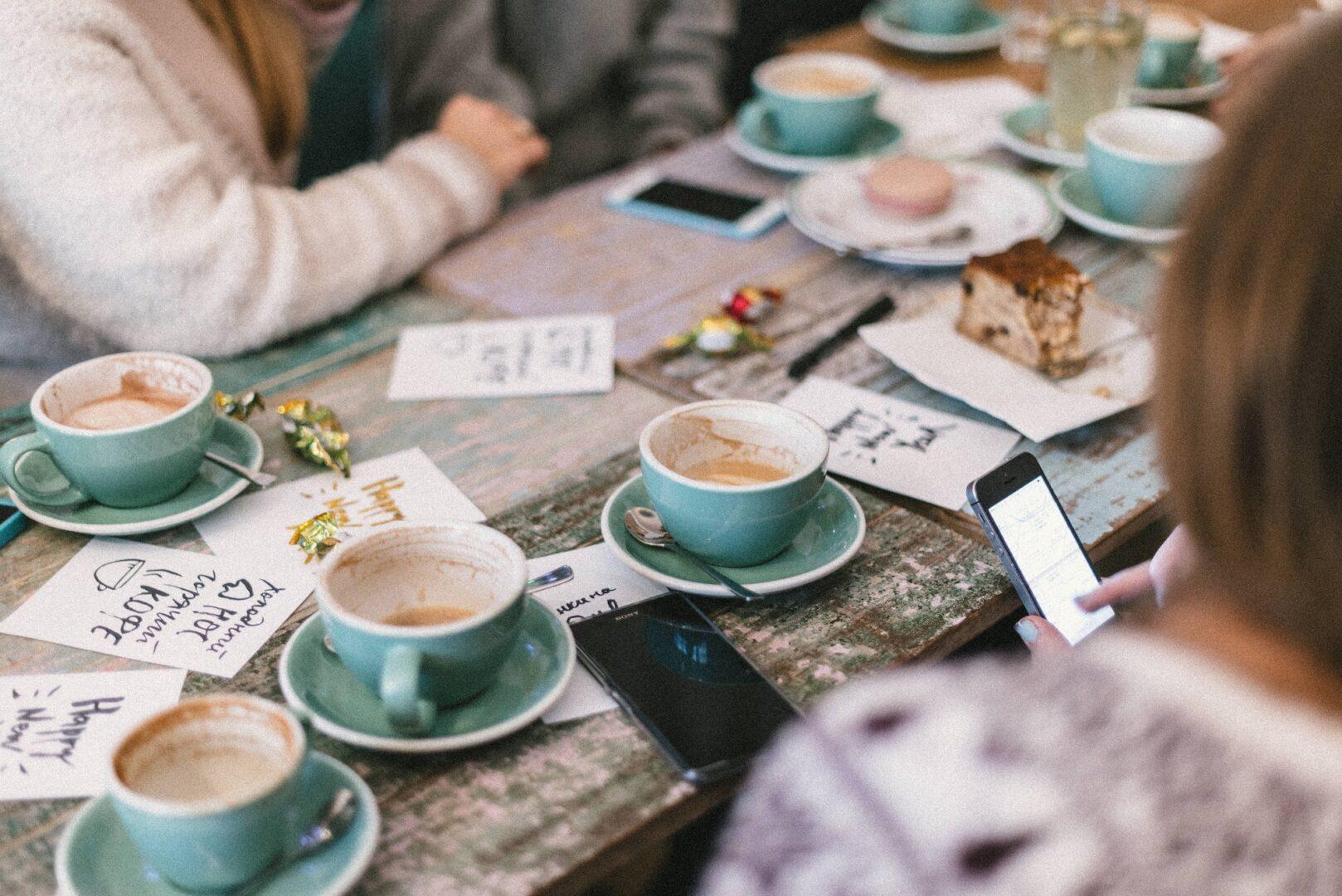 Workshop coffee break