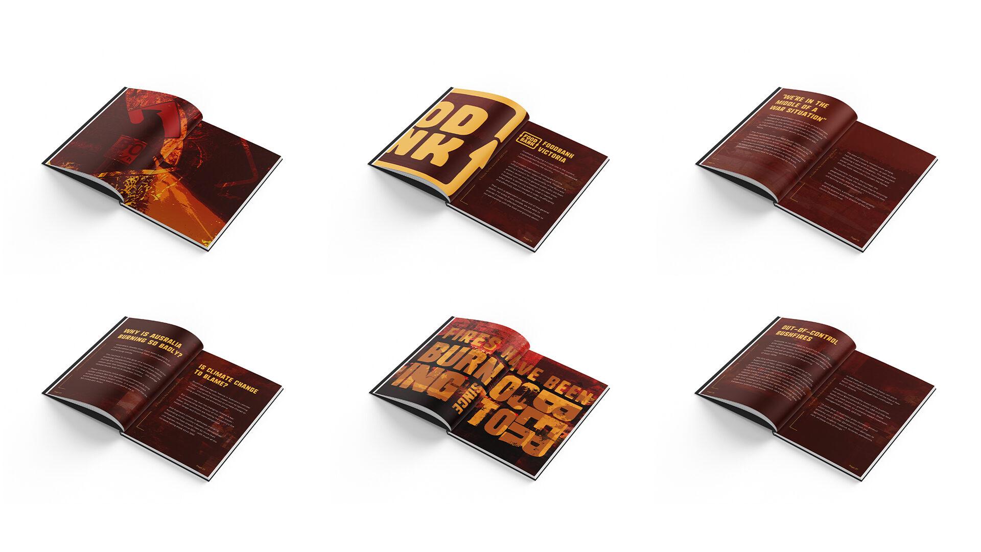 Australia Fires Book - Mockup